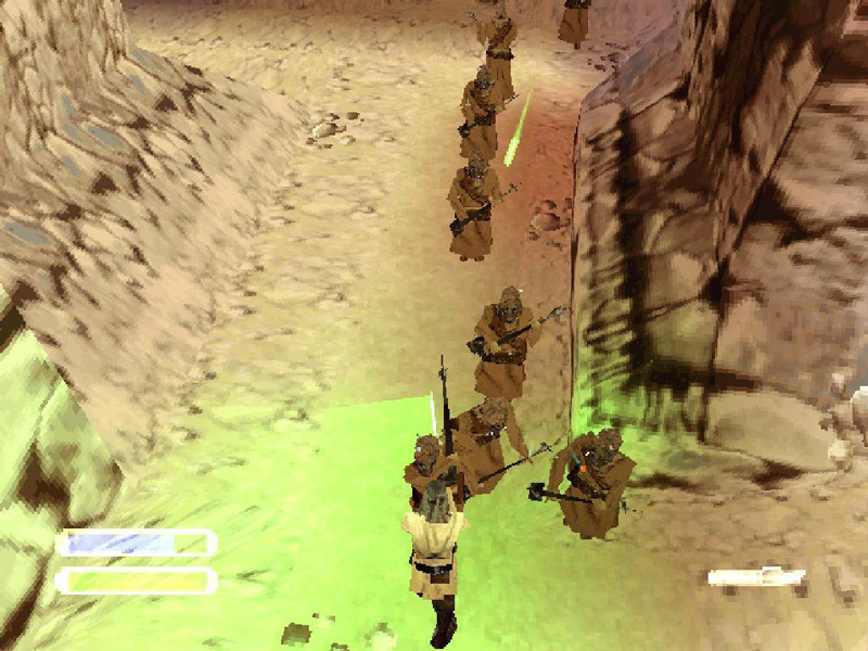 The PS1 version of the game was utter rubbish. It had visuals that were worse than a first generation PS1 game and was incredibly buggy.