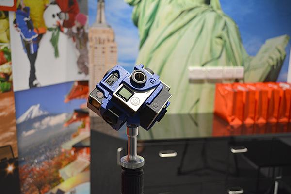 A six-camera VR rig.