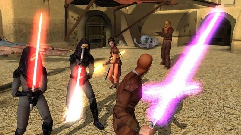 Knights of the Old Republic showed that a Star Wars game need not be set during the movies' time period to be great.