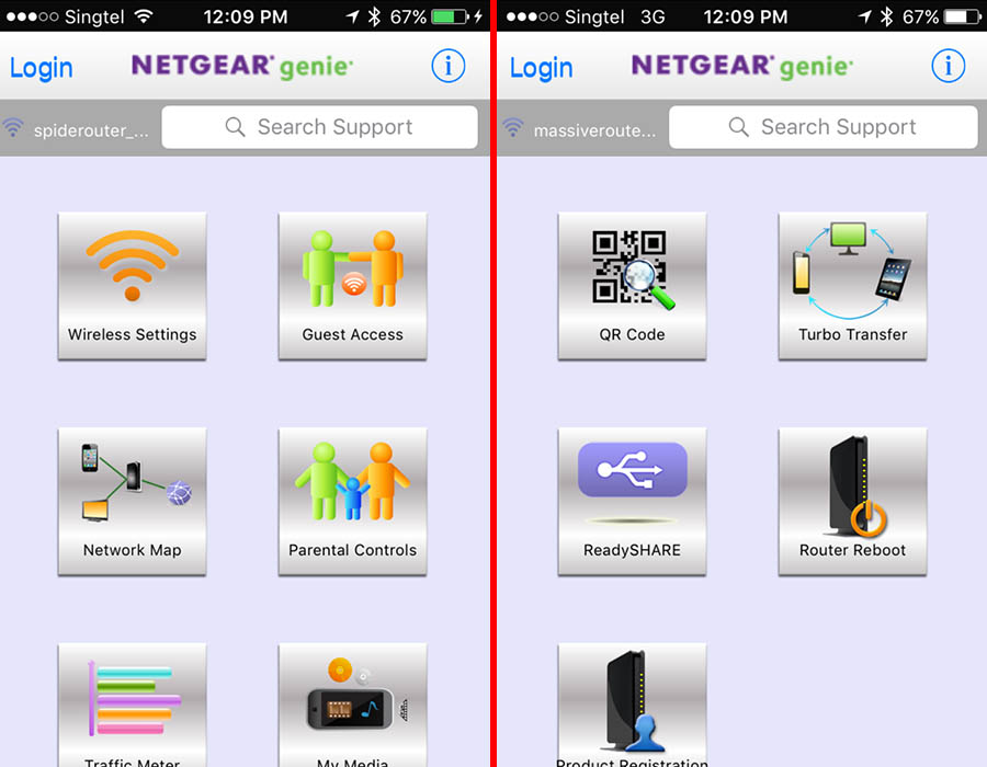 The Netgear Genie app has been updated to be more user-friendly to use.