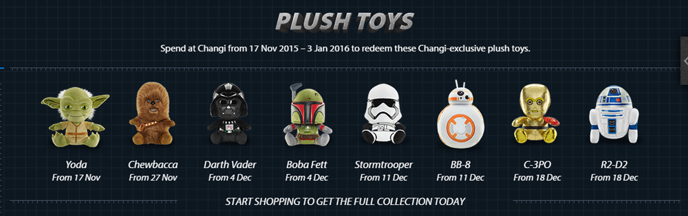 If you're interested, head over to the Changi Airport website for details on these plushies.