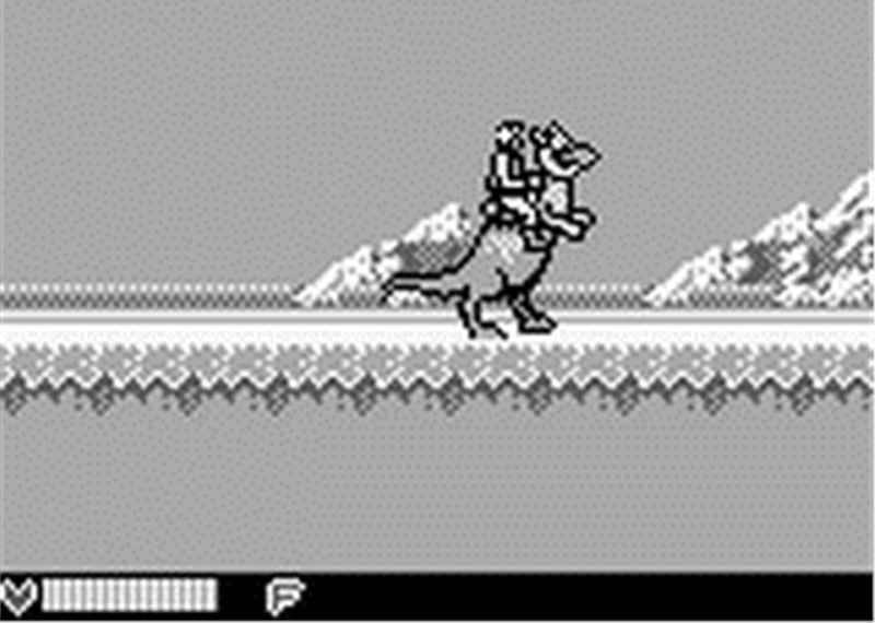 The Tauntaun looked like a dinosaur, but the Game Boy version of The Empire Strikes Back is a great portable game.
