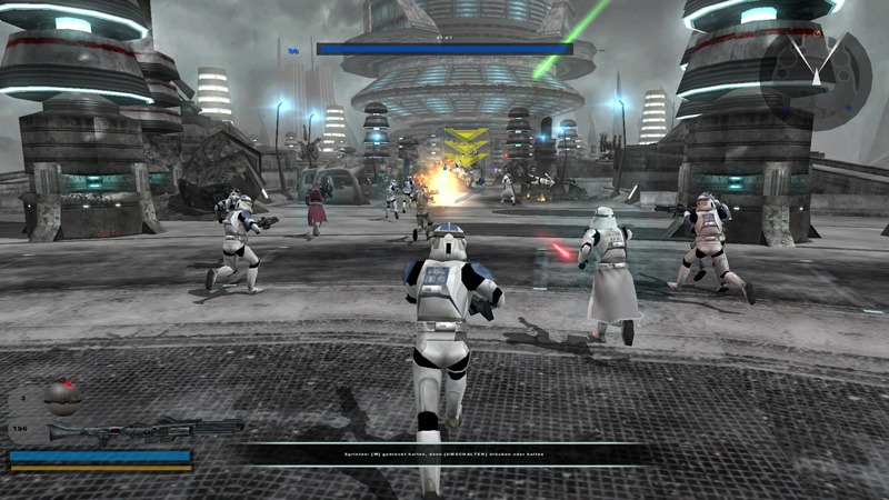 It might not look as good as EA's new Battlefront, but Battlefront 2 had more content and better gameplay.