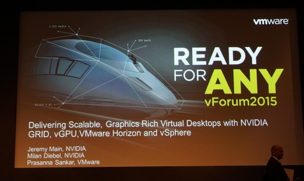 We were down in Singapore to hear what NVIDIA had to say about their GRID 2.0 at the vForum 2015.