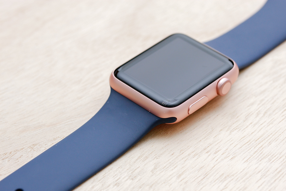 Apple Watch Sport Rose Gold Case With 14 Bands This Is What 42