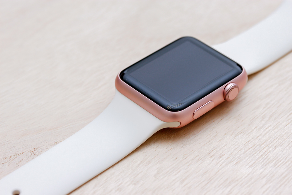 best sneakers 67399 6eedd Apple Watch Sport Rose Gold Case with 14 bands : This is what 42 ...