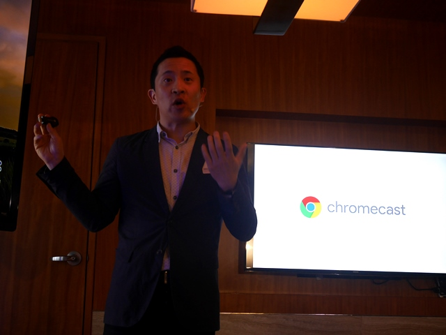 Mickey Kim, Head of Chromecast and TV Partnerships in Asia Pacific at Google, explains how the new Chromecast works.