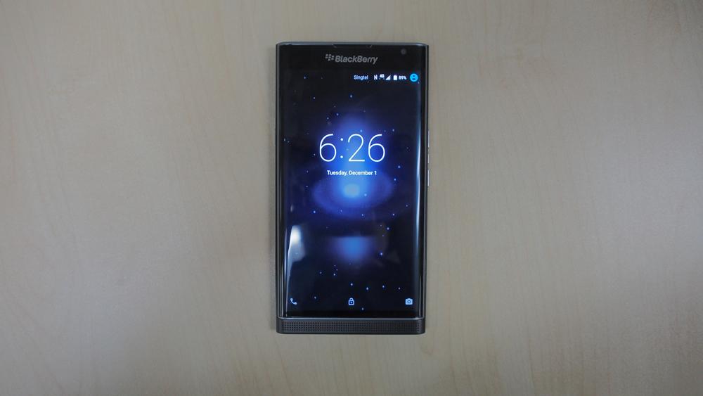 The BlackBerry Priv.