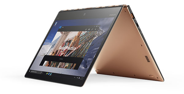 Lenovo Yoga 900S tent mode