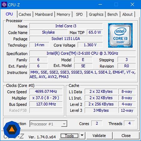 You can overclock a 'locked' Intel Core i3 Skylake processor