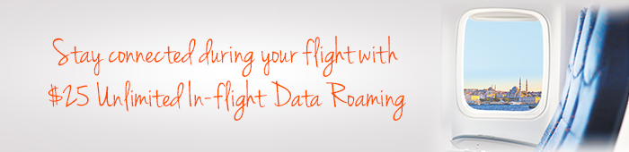 M1's latest in-flight data roaming service offers unlimited usage at S$25 a day.