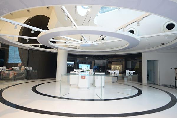 DJI Shenzhen flagship store interior
