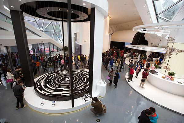 DJI Shenzhen flagship store Flight Area