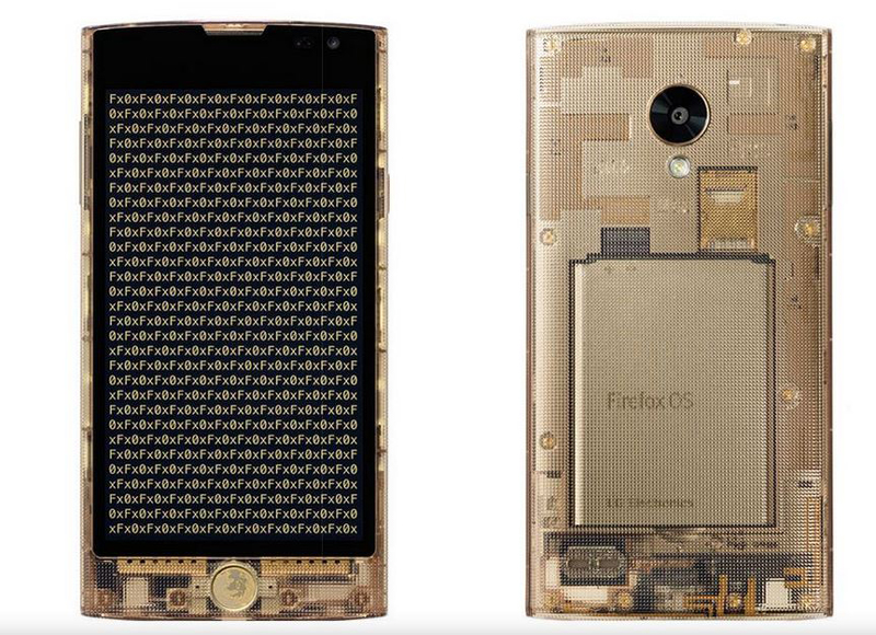 The KDDI Fx0, a Japan-only, see-through Firefox OS smartphone that retailed at US$420 (~RM1,790) earlier this year.