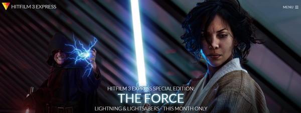 Interested in creating your own Sith lightning and lightsaber effects? Here's your chance to learn how to do to it.