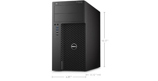 The Dell Precision 3000 Series Mini Tower.