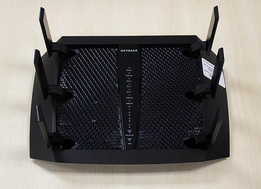 The Netgear Nighthawk X6 is still one of the most unusual looking routers around.