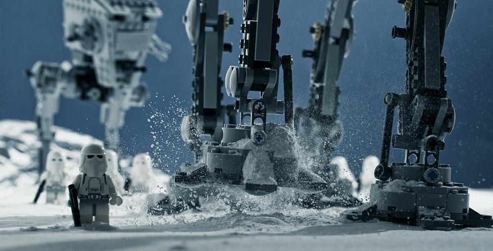 This image is the dramatized, recreated version of the same Battle on Hoth. Image credit: Vesa Lehtimäki.