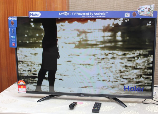 Haier's new U5000 Series is available in three different sizes: 49-inches, 43-inches, and 40-inches.