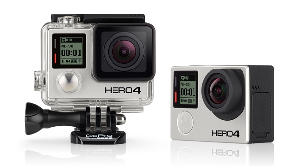 GoPro Hero4 Black (Image source: GoPro)