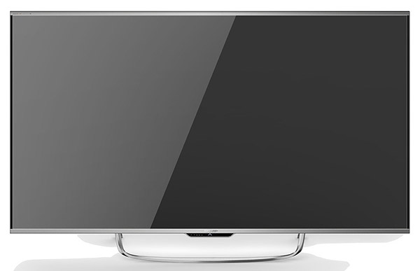 The 70-inch Sharp Aquos N9100U is a high-end flatscreen 4K TV with full array local dimming. (Image source: Sharp.)