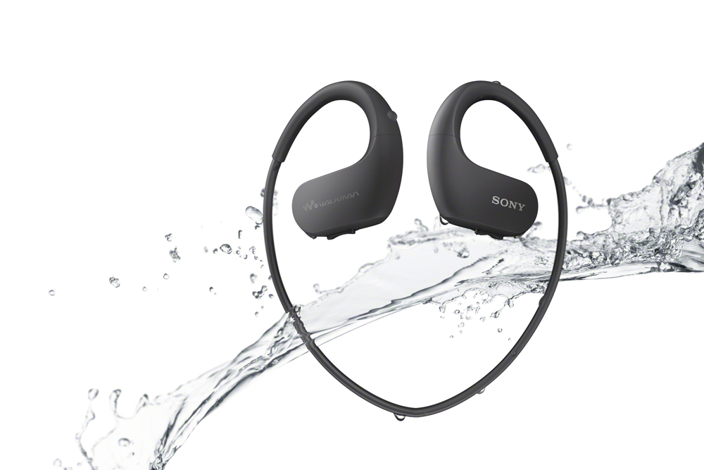 The werable WS413 and WS414 Walkman players are weatherproof - against water, dust, salt, with resistance to rust.
