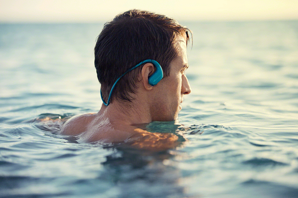 While it's designed to withstand water sports, you can still use the Sony Walkman WS413 and WS414 if you just like having an all-in-one player by your side.