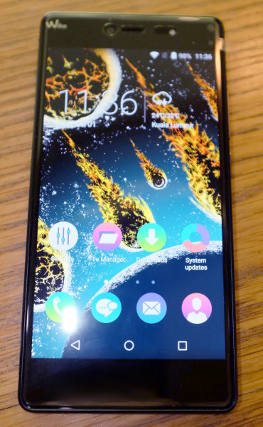 Wiko's Fever is perhaps, the smartphone among the three that is best suited for the consumer looking to strike a balance between power and elegance.