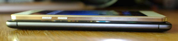 At 5.1 mm, the Highway Pure 4G (top) is one of the slimmest mid-range smartphones that we've ever held (lightest too!).