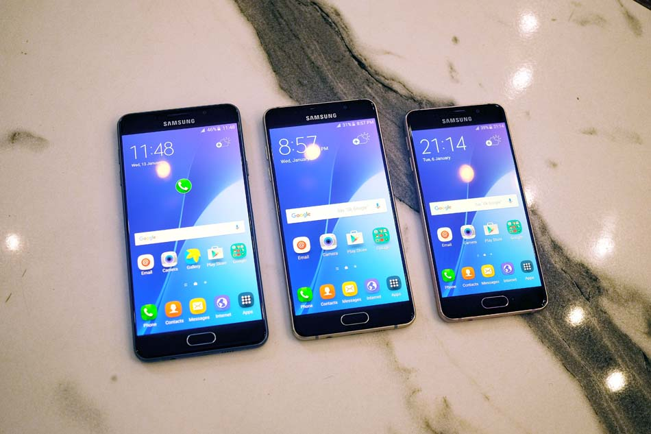 Samsungs 2016 A Series Phones Bring Flagship Looks And Features At Mid Range Prices