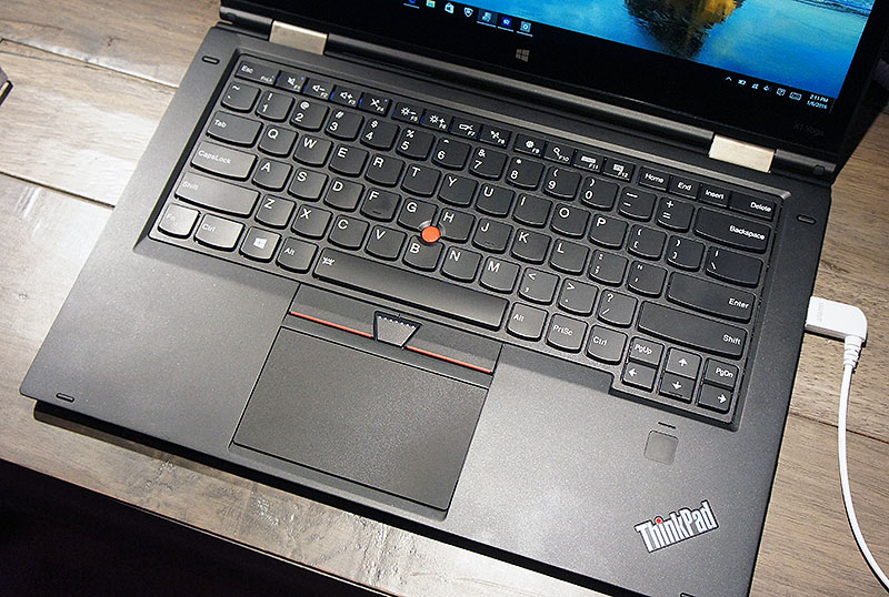 Lenovo ThinkPad X1 Yoga keyboard