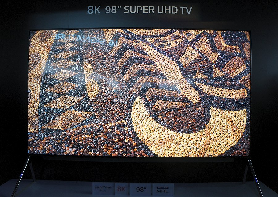 LG's 98-inch 8K ColorPrime Plus TV has been enhanced from last year and it looks like there may be a possibility of it going into retail late this year.