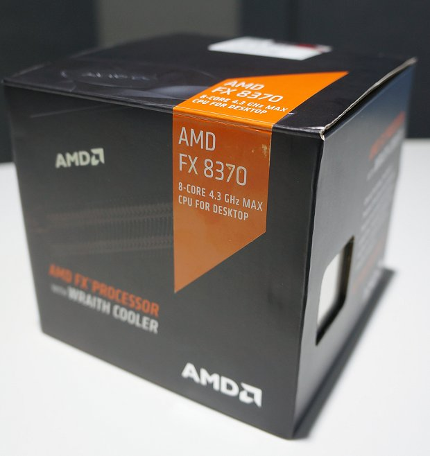 AMD's upcoming new retail processor box packaging.