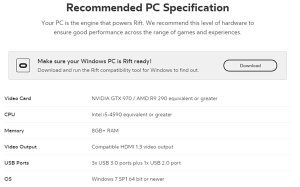 As long as your PC meets or exceeds those requirements, you're golden.