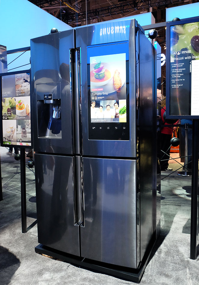 Touch Screen Kitchen Appliances