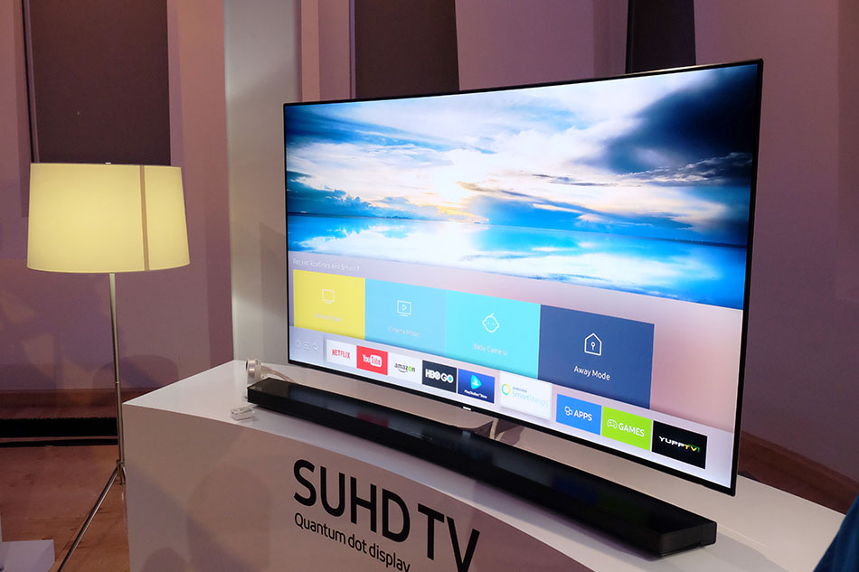 In conjunction with Samsung SmartThings, you'll be able to use your Samsung SUHD TV as a Smarthub.