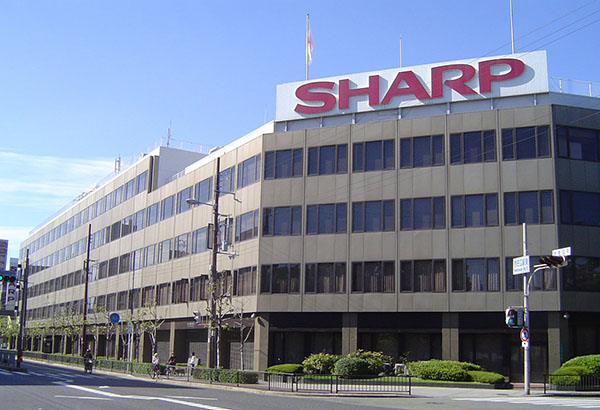 Sharp's HQ in Osaka, Japan. (Image source: Wikipedia)