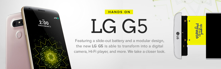 Hands-on: LG G5