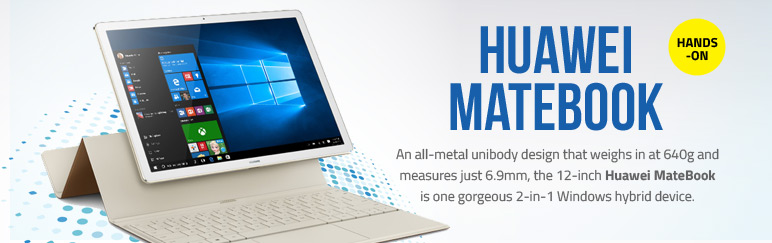 Hands-on: Huawei MateBook