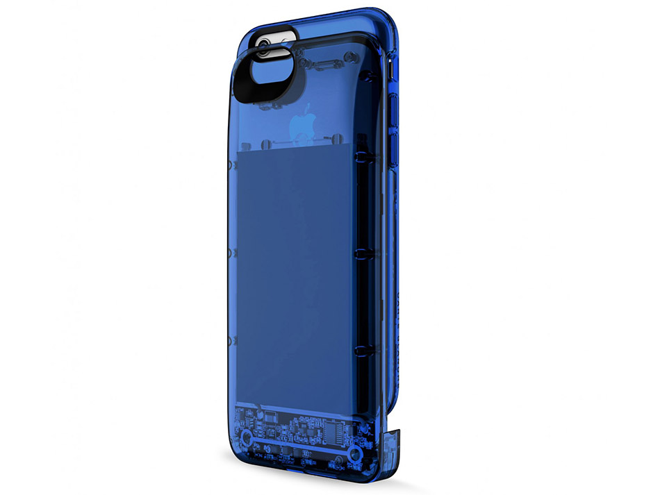 Boostcase by Carte Blanche for iPhone 6/6S is available in several colors. (Image source: Boostcase.)