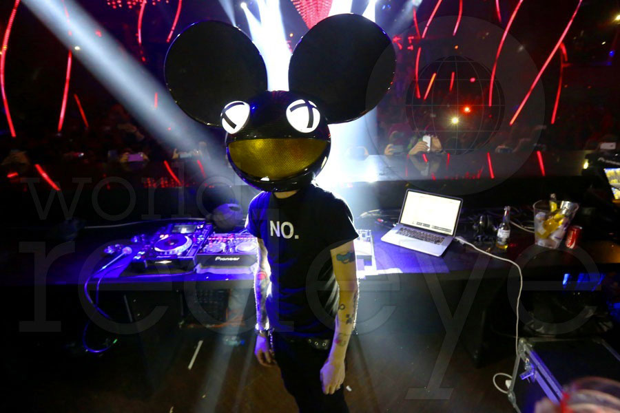 Deadmau5, co-owner of the company that made the music editing software.