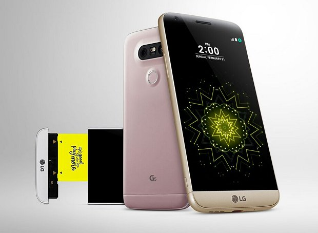 The all new LG G5 smartphone and its modular design is its highlight feature.