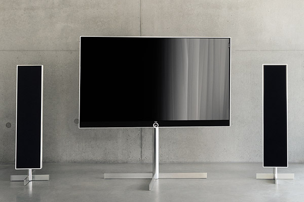 loewe 39 s high end reference uhd tv series now available in bigger sizes 85 inch model to cost s. Black Bedroom Furniture Sets. Home Design Ideas
