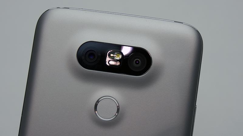 Dual rear cameras.