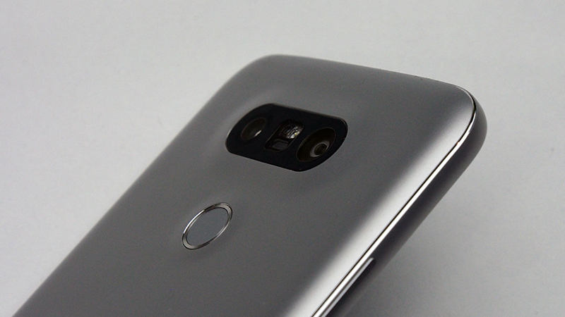 Gone are the rear volume buttons, but it still has the fingerprint scanner at the rear - just like the Nexus 6P.