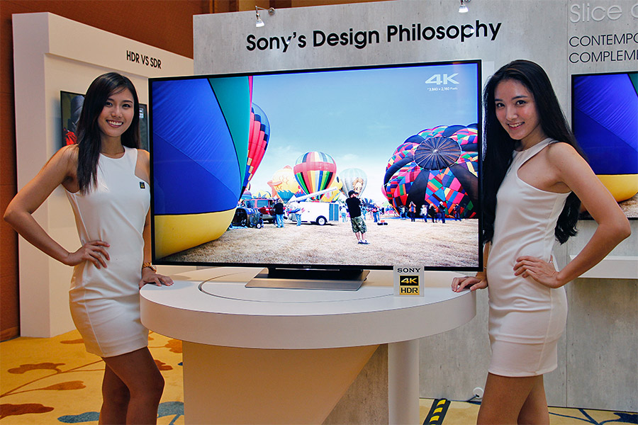 sony unveils its 2016 4k hdr tv lineup for singapore. Black Bedroom Furniture Sets. Home Design Ideas