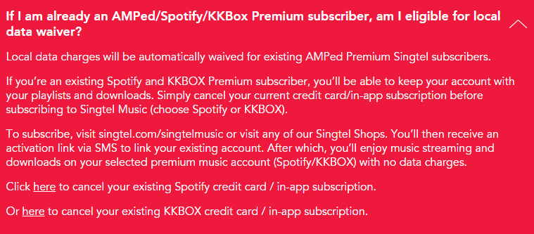 If you're an existing Spotify premium user, here's how you should go about when signing up for this zero-data-charge plan for music streaming. Go to their website for more information.