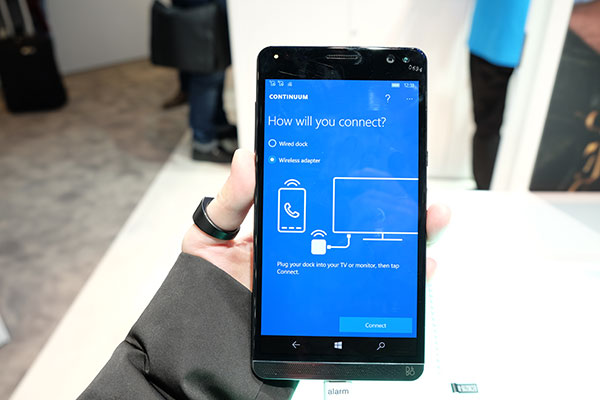 HP Elite x3 Continuum