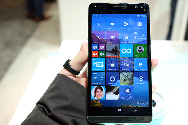 The HP Elite X3 is a phone that wants to be the only ...