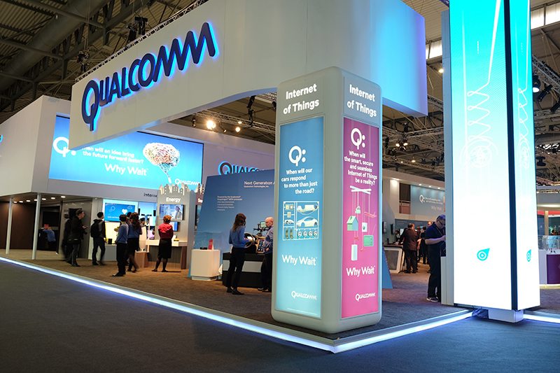 Qualcomm booth MWC 2016